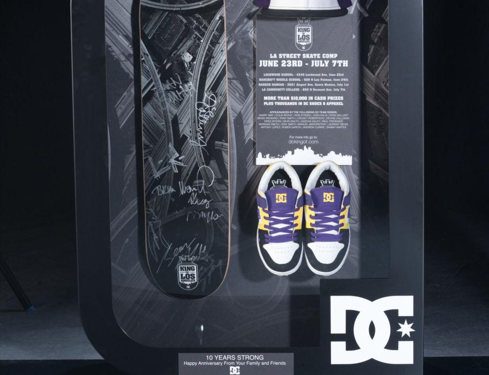 DC Shoes Kasina 10th Anniversary Award Case