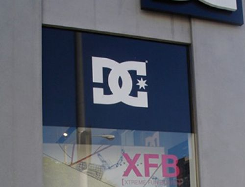 DC Melrose Window Graphics