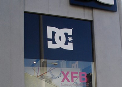DC Melrose Window Graphics