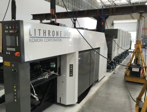 New Komori Installation