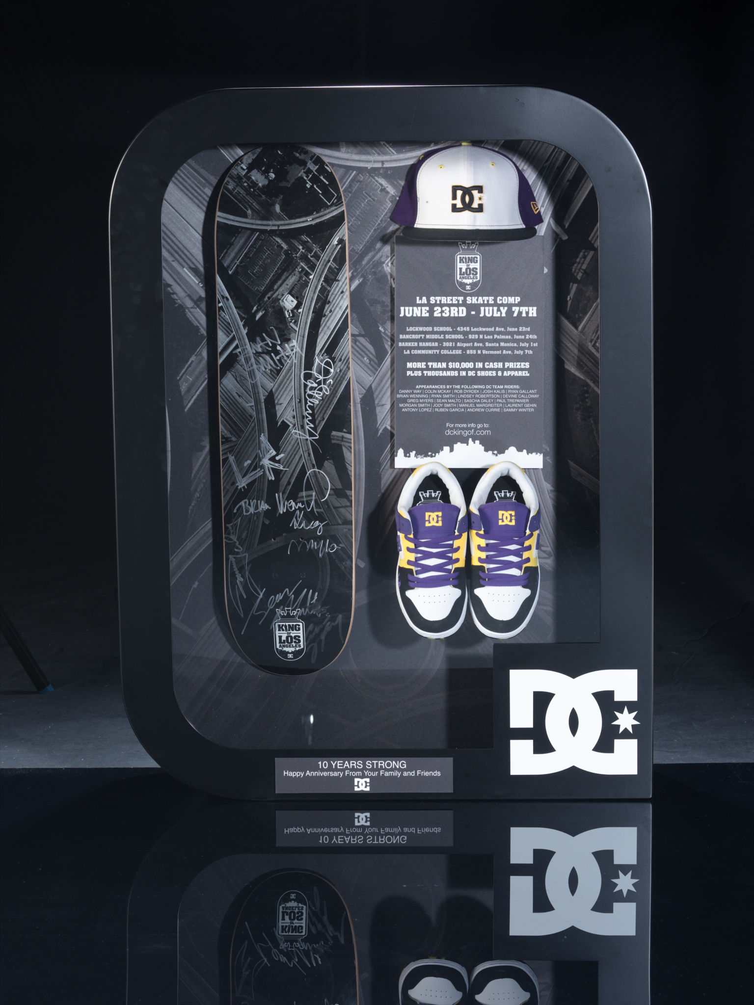DC Shoes Kasina 10th Anniversary Award Case