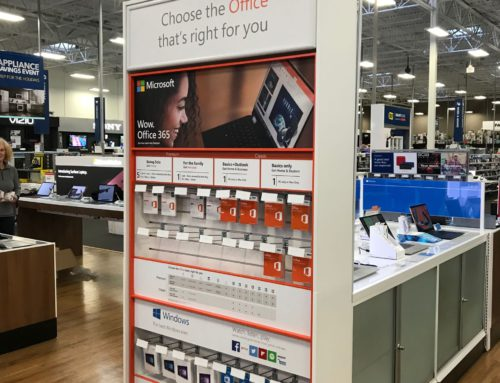 Microsoft – Best Buy Fixture Graphics