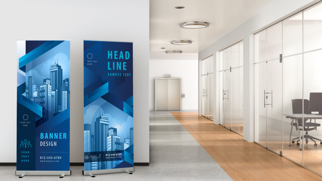 Retractable Banner, DPI Direct - Print Marketing